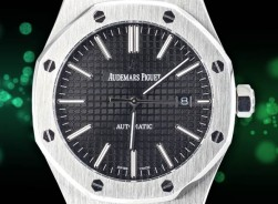 Audemar Piguet Royal Oak Automatic-Steel/Black