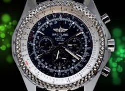 Breitling Bentley Le Mans-Motors CLassic Edition/Leders schwarz