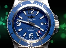 Breitling Superocean 2020 Collection Steel/Blue