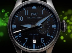 IWC Big Pilot´s Watch 2021 7 Days Power Reserve-Darkblue-PVD