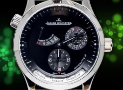 Jaeger-LeCoultre JLC Master Control World Geographic-2020/Black