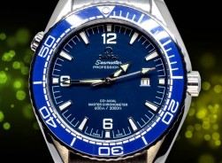 Omega Seamaster Professional Master 2020 Limited 007 Skyfall-Blue