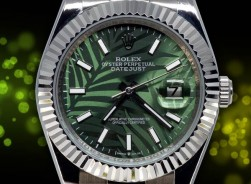 Rolex Datejust-Exotic/Palm Leaves 2022