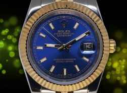 Rolex Datejust UNISEX Bi-Color-Blue Jubilee´ Edition 2019