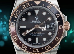 Rolex GMT-Master II Bi-Color Rosegold/Bronze Black