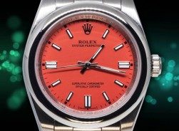 Rolex Oyster Perpetual 41 mm 2021-Rot