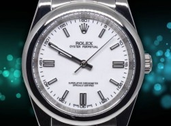 Rolex Oyster Perpetual 41 mm 2021-Weiss
