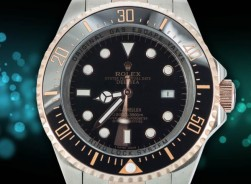 Rolex Sea-Dweller/Keramik Lünette Bi-Color Gold