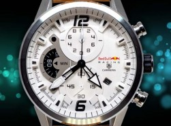TAG HEUER CARRERA REDBULL RACING 2020-White/Brown