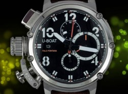 U-Boat Italo Fontana Steel-Leather/ White Indicator-2018