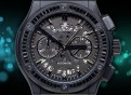 Hublot-Big Bang Skelleton-Black Diamonds 2020 Black/Grey