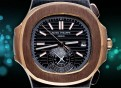 Patek Philippe-Nautilus Chronograph/Bi-Color Rosegold Black