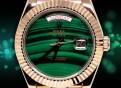 Rolex Daydate Special Green/Rosegold Edition-President 2020