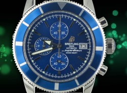 Breitling Superocean Heritage Chronograph 2021-Blue Edition