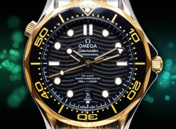 Omega Seamaster 300 M Ceramic Wave Bi-Color Edition 2020