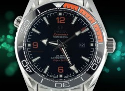 Omega Seamaster Planet Ocean 600M /Black-Orange