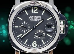Panerai Luminor 1950-Power Reserve/Lederarmband-Braun
