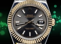Rolex Datejust Bi-Color Dark Rhodium Jubilee´Edition 2021