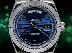 Rolex Day-Date Blue Wave Dial 2021